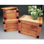 輸出用木箱 -Aタイプ-うす茶 LLサイズ アメリカ雑貨 アメリカン雑貨 MADE IN JAPAN 木箱 収納 アンティーク おしゃれ カントリー雑貨