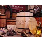 コーヒー木樽(大だる)無色 アメリカ雑貨 アメリカン雑貨 おしゃれ ゴミ箱 カントリー雑貨 ナチュラル