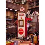 レッドスターガソリンのガスポンプCDタワー アメリカン雑貨