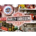 ショッピングハーレーダビッドソン ハーレーダビッドソンのビッグサイズ看板(バー&シールド) アメリカ雑貨 アメリカン雑貨 インテリアおしゃれな部屋 世田谷ベース ウッドサイン