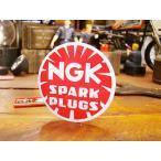 ミニレーシングステッカー NGKステッカー SPARK PLUGS アメリカ雑貨 アメリカン雑貨 車 シール ブランド