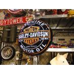 ショッピングハーレーダビッドソン ハーレーダビッドソンのオイル缶パブライト アメリカン雑貨