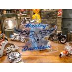 ハーレーダビッドソン ステッカーシート(ブルーイーグル) Lサイズ アメリカ雑貨 アメリカン雑貨 車 シール ブランド