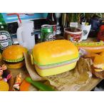 ハンバーガーのランチボックス(レクタングル) アメリカ雑貨 アメリカン雑貨 おもしろグッズ おもしろ雑貨