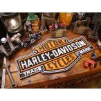 ハーレーダビッドソンのバー&シールド・バーマット アメリカ雑貨 アメリカン雑貨 アメリカ 輸入 インテリア グッズ 雑貨 人気