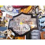 ショッピングハーレーダビッドソン ハーレーダビッドソンのバー&シールドミラー アメリカン雑貨