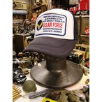 U.S.エアフォースのメッシュキャップ アメリカ雑貨 アメリカン雑貨 帽子 メンズ ファッション アメカジ 人気 おしゃれ ギフト ミリタリー