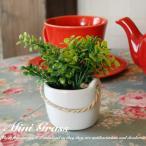 観葉植物 造花 Mini Grass S アレンジ 花瓶 花器 CT触媒 人工植物 消臭 抗菌 防菌 インテリア アートフラワー ギフト