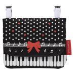 Yahoo!発表会記念品専門店 カンタービレピアノライン ポケットポーチリボン この商品はお取り寄せ商品です ピアノ ト音記号 音符 音楽雑貨 発表会記念品