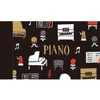 Yahoo!発表会記念品専門店 カンタービレミニメモ la la PIANO この商品はお取り寄せ商品です ピアノ ト音記号 音符 音楽雑貨 発表会記念品
