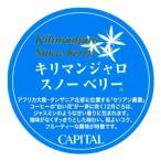 CAPITAL キリマンジャロ スノーベリー ストレート タンザニア産 焙煎豆/粉 200g 袋【キャピタルコーヒー/CAPITAL】