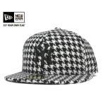 NEW ERA(ニューエラ) コラボ オンスポッツ別注 キャップ ニューヨーク ヤンキース ハウンドトゥース ブラック 帽子