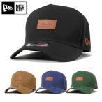 オンスポッツ別注 ニューエラ キャップ ストラップバック 9FORTY Dフレーム レザーパッチ NEW ERA | 帽子 メンズ レディース | 全4色【UNI】