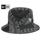 ニューエラ NEW ERA ハット バケット ペイズリー ブラック 帽子