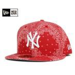 ニューエラ NEW ERA キャップ ニューヨーク ヤンキース ペイズリー レッド 帽子