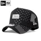 ニューエラ メッシュキャップ 帽子 NEW ERA 9FORTY Dフレーム ブラック