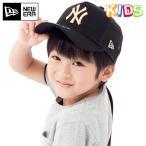 ニューエラ キッズ 子供用 メッシュキャップ 帽子 NEW ERA KIDS ヤンキース ブラック