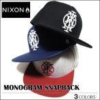 ショッピングnixon NIXON ニクソン キャップ スナップバック BBキャップ メジャーキャップ フレックスフィット 帽子 MONOGRAM アウトドア メンズ レディース スケート