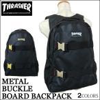 スラッシャー リュック THRASHER 送料無料 通学 大容量 バッグ バックパック ブラック MAG FLAME LOGO マグ フレーム フレイム THRKR-7900