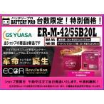 GS YUASA   ジーエスユアサ   国産車バッテリー   ECO.R Revolution   アイドリングストップ車対応 ER-M-42 55B20L