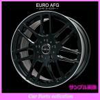 20インチ 9.0 5HP.C.D:112 INSET:57 EURO AFG グロスブラックリムポリッシュ(2本セット)