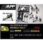 シエンタ 【NCP81G】 (03.09〜) ヘッドライトバルブ H4Hi/Low 3000K APP HIDコンバーションキット APD-305