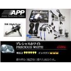 エクストレイル 【NT30】 (00.11〜07.07) ヘッドライトバルブ H4Hi/Low 4500K APP HIDコンバーションキット APD-455