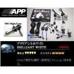 エクストレイル 【NT30】 (00.11〜07.07) ヘッドライトバルブ H4Hi/Low 6000K APP HIDコンバーションキット APD-605