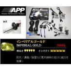 ロードスター 【NB8C】 (00.07〜05.07) ヘッドライトバルブ H7 3000K APP HIDコンバーションキット APD-306