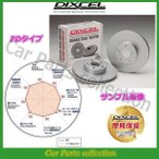 キャリィ DB52T/DB52V(99/1〜01/09) ディクセルブレーキローター フロント1セット PDタイプ 3714013(要詳細確認)
