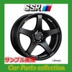 17インチ 7.0J 4H P.C.D:100 INSET:50 SSR GT V01 フラットブラック 1本(代引き購入不可)