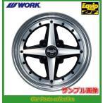 ワーク WORK エクイップ01 15インチ 8.0J 4H P.C.D:100 DEEP RIM(Odisk) ブラックカットクリア 1本 (代引き購入不可)