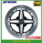 ワーク WORK エクイップ01 15インチ 9.0J 4H P.C.D:100 DEEP RIM(Odisk) ブラックカットクリア 1本 (代引き購入不可)