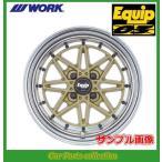 ワーク WORK エクイップ03 15インチ 9.0J 4H P.C.D:114.3 DEEP RIM(Odisk) ゴールド 1本 (代引き購入不可)