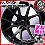 RAYS WALTZ FORGED S5 18×7.5J +45 5/114.3 プレスドブラッククリアー(KK)