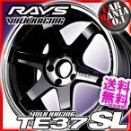 17×8.5JJ +45 5/100 ボルクレーシング TE37SL (PW) レイズ 17インチ ホイール1本 RAYS TE37 SL