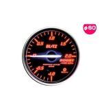 BLITZ ブリッツ No.19581 レーシングメーターSD ブースト圧計 φ60(WHITE指針、RED照明)