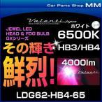 VALENTI ヴァレンティ LDG62-HB4-65 ジュエルLEDヘッドバルブ GXシリーズ 6500K HB3/HB4 ホワイト