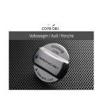 CodeTech コードテック CO-VCP-001 フューエルキャップカバー フォルクスワーゲン、アウディ、ポルシェ用 文字タイプ:PREMIUM GAS