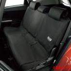 キズや汚れに強い 車 ファインテックス 防水シートカバー 一体式シート・分割式シート フリーサイズ 後席用 1枚 ブラック/黒