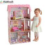 【KidKraft キッドクラフト】ペネロペ ドールハウス 木製【costco コストコ】送料無料 KidKraft PENELOPE Dollhouse #65179 3階建て おもちゃ おままごと お人形