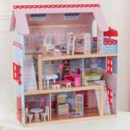送料無料 KidKraft Chelsea Doll Cottage  キッドクラフト チェルシー ドール コテージ 正規品 おままごと 木製 おもちゃ