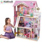 あすつく 送料無料 KidKraft Annabelle Doll House  キッドクラフト アナベルドールハウス エレベーター 階段 正規品 おままごと 木製 おもちゃ
