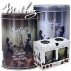 送料無料マセスmathez2缶とろける生チョコレート トリュフなのに大容量 2缶1kg マセズ