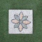 踏み石 ステップストーン セメントタイル 四角30cm 踏石 飛び石 敷石 タイル バリ風 お庭づくり エクステリア DIY