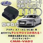 ピービー/pb製 アウディ/Audi A7 (4G/MC後モデル専用)用テレビキャンセラー CMM-VAD2