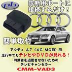 ピービー/pb製 アウディ/Audi A7 (4G MC前モデル)用テレビキャンセラー CMM-VAD3