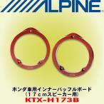 アルパイン/ALPINE ホンダ車用 17cmスピーカー用高音質インナーバッフルボード KTX-H173B