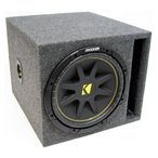 ショッピングPackage ASC Package Single 12インチ Kicker(キッカー) Sub Box Vented Port サブウーファー 3/4インチ MDF Encl