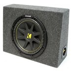 ショッピングPackage ASC Package Single 12インチ Kicker(キッカー) Sub Box Regular Cab Truck 3/4 MDF サブウーファー Encl